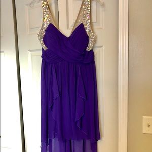Dresses & Skirts - High-Low Jeweled Prom/Homecoming Dress
